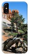 Spires On Navajo Trail IPhone Case