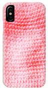 Bubblegum Knit IPhone Case