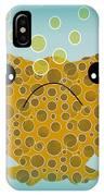 Bubbles The Fish IPhone Case