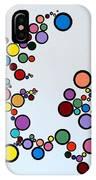 Bubbles2 IPhone Case