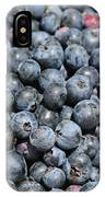 Bucket Of Blueberries IPhone Case