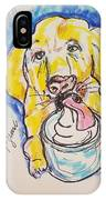 Buckett List For Dogs IPhone Case