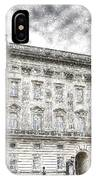 Buckingham Palace London Snow IPhone Case
