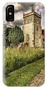 Bucklebury Parish Church Berkshire IPhone Case