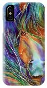Bucky The Mustang In Watercolor IPhone Case