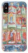 Bucovina Monastery Fresco IPhone Case