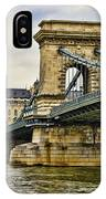 Budapest - Chain Bridge IPhone Case