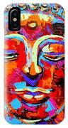 Buddha 3 IPhone Case