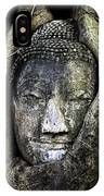 Buddha Head In Banyan Tree IPhone Case