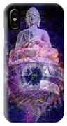 Buddha Spinning In A Merkaba IPhone Case
