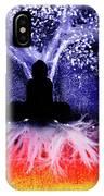 Buddha Under The Wisdom Tree IPhone Case