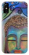 Buddha With Tree Of Life IPhone X Case