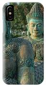Buddhas All In A Row IPhone Case