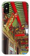 Nord Hoi Temple Ceiling IPhone Case