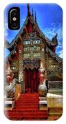 Buddhist Temples In Chiang Mai IPhone Case