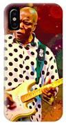 Buddy Guy Portrait IPhone Case