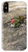 Buds Of Beauty Within Harshness IPhone Case