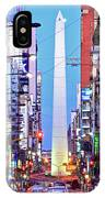 Buenos Aires Obelisk IPhone Case