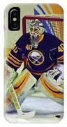 Buffalo Goalie  IPhone Case