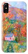 Buffalo Mountain In Fall IPhone Case