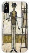 Buffet: Artist, 1948 IPhone Case