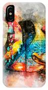 Bug Watercolor IPhone Case by Michael Colgate