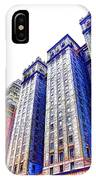 Building Closeup In Manhattan 15 IPhone Case