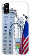 Building Closeup In Manhattan 9 IPhone Case