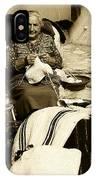 Bulgarian Market Lady IPhone Case