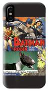 Bull Terrier Art Canvas Print - Batman Movie Poster IPhone Case