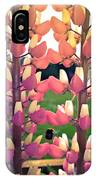 Bumble Bee And Flowers IPhone Case