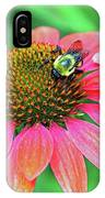 Bumble Bee On Flower IPhone Case