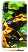Bumble Bee Poison Frog IPhone Case