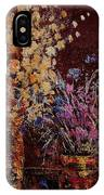Bunch Of Dried Flowers  IPhone Case