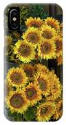 Bunches Of Sunflowers IPhone Case