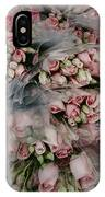 Bundles Of Pink Roses Are Gathered IPhone Case