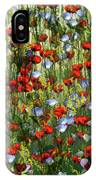 Bunte Sommerwiese IPhone Case