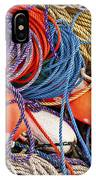 Buoys And Rope IPhone Case