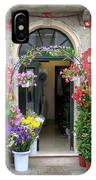 Burano Flower Shop IPhone Case
