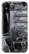 Burgandy Blur IPhone Case