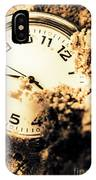 Buried By The Hands Of Time IPhone Case