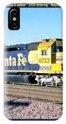 Burlington Northern Santa Fe Bnsf IPhone Case