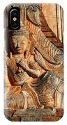 Burmese Pagoda Sculpture IPhone Case