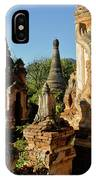 Burmese Pagodas In Ruins IPhone Case