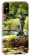 Burnett Fountain Garden IPhone Case