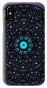 Burnout Velvet Mandala IPhone Case by Joy McKenzie