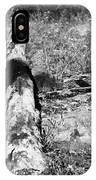 Burnt Log IPhone Case