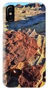 Burnt Orange Wave Of Sandstone In Valley Of Fire IPhone Case