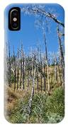 Burnt White Firs IPhone Case
