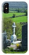 Burren Crosses County Clare Ireland IPhone Case